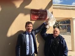Serge Perottino a dévoilé la nouvelle place des Écoles et de la Laicité - 20170330