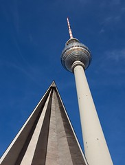 TV Tower. Berlin (malcolmmartin1211) Tags: tower berlin televisiontower alexanderplatz