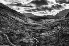 Glen Loin - Ben Lomond (AdMaths) Tags: adammatheson mono monochrome mountainbiking mountainbike glenloin arrochar arrocharandtarbet canon canondigitalixus82is ixus ixus82is canonixus82is canonixus compactcamera compact 82is scotland scottishlandscape scottish scenery scene scottishscenery landscape lochlomondnationalpark nationalpark lochsloy sloy forestrycommission glenloinloop powerlines adammathesonphotography lochlomond lochsloydam