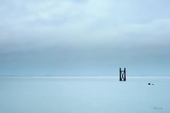I X I   -   . (Just me, Aline) Tags: 9nd 9ndhg alinevanweert le leefilter leefilters westkapelle zeeland beach bigstopper langesluitertijd longexposure sea strand zee minimalism minimalisme