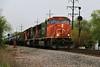 U704 75s (BravoDelta1999) Tags: canadiannational cn railway illinoiscentral ic railroad freeportsubdivision broadview illinois emd sd75i 5727 ghead signal u704 ethanol train