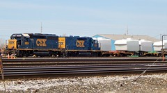 Frontier Yard Power & Generators (BuffaloRailfan30) Tags: buffalo ny trains csx frontier yard slug set generators