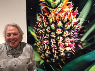 Photographer Alan Maltz at his Opening at Robb and Stucky in Coral Gables