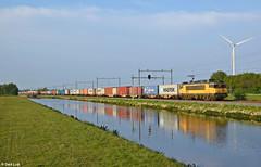 BE 01, Coevorden, 12-5-2017 19:43 (Derquinho) Tags: 50587 coevorden heege euroterminal container train rotterdam maasvlakte be 01 be01 1835 1800 1600 bentheimer eisenbahn