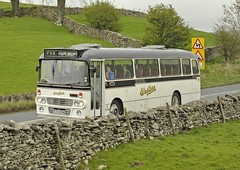 SCS335M Western Scotish KL2466 (martin 65) Tags: kirkby stephen eden valley commercial classic vehicle vintage rally cumbria road transport public preserved preservation bus buses