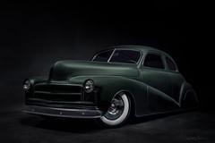 Green Sled (DL_) Tags: chevrolet chevy fleetmaster green sled automotive hotrod vintage classic olympusomdem5mkii