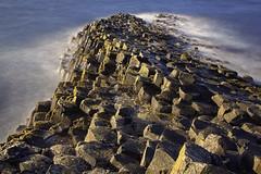 Geometrie naturali / Natural geometries (Giant Causeway, Northern Ireland, United Kingdom) (AndreaPucci) Tags: giantcauseway antrim northernireland uk ireland basalt column hexagonal longexposure andreapucci canoneos60