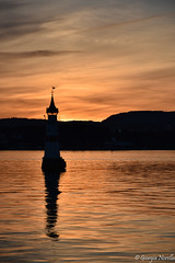 Lighthouse at sunset (norella.giorgia) Tags: oslo lighthouse sunset nikon d5500 tramonto sea water beautiful faro light red rosso sky silhouette photography landscape norway trip travel riflesso reflection reflex
