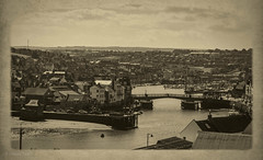 Whitby Harbour (DWTait) Tags: whitby england unitedkingdom gb bridge view townscape