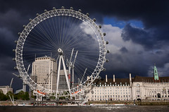 Day #3404 (cazphoto.co.uk) Tags: panasonic lumix dmcgx7 panasonic20mmf17lumixgiiasph project365 beyond3288 260417 london westminster londoneye londonaquarium embankment wheel weather