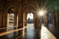 Venedig Dogenpalast (davidzimmermann1) Tags: sonya6000 sonyalpha sony venedig dogenpalast venezia weitwinkel sonnenstern sonnenaufgang 1018mm