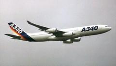 F-WWBA Farnborough 13 September 1992 (ACW367) Tags: fwwba airbus a340200 airbusindustrie farnborough