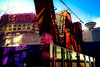 Vancouver dreaming (chrisyakimov) Tags: explorevancouver vancouver goldcorpcentreforthearts dominionbuilding harbourcentre woowardsbuilding explorebc sfuvancouver gastown yvr downtown