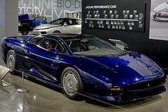 1992 Jaguar XJ220 (Pat Durkin OC) Tags: 1992jaguar xj220 blue thepetersen