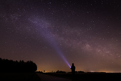 Milky  way  near Erding (drummerwinger) Tags: erding rot sterne dunkel night milkyway milchstrase stars canon700d tokina