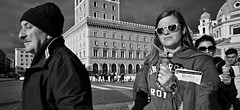 Just shooting the building!!!! (Baz 120) Tags: candid candidstreet candidportrait city candidface candidphotography contrast street streetphoto streetcandid streetphotography streetphotograph streetportrait rome roma romepeople romestreets romecandid europe women monochrome monotone mono blackandwhite bw noiretblanc urban voightlander12mmasph voightlander life leicam8 leica primelens portrait people unposed italy italia girl grittystreetphotography faces decisivemoment strangers