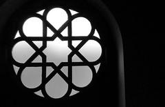 Lights/out (kriska.oliver) Tags: window rosewindow blackandwhite bw