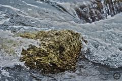 Power of  the sea (luisdonate) Tags: sea wave rocks ocean marine lapse moment