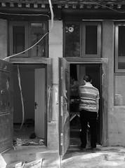 Beixinqiao Santiao Beijing - housing makeover (Bruce in Beijing) Tags: beijing beixinqiao hutong homes renovation transformation oldbeijing doorways entrances