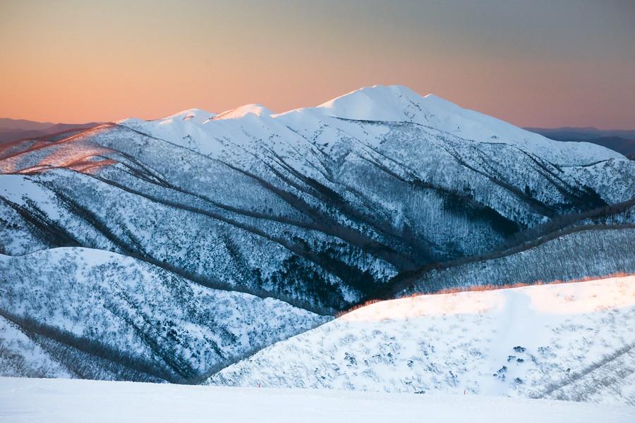 Victoria's alpine region during winter