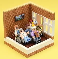 Happy Birthday Doris (MinifigNick) Tags: lego afol minifigure minifig