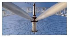 London Eye, looking skyward. (Richard Murrin Art) Tags: richard murrin art photography canon 5d landscape travel images building cool london eye thames embankment