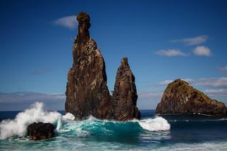 Breaking waves - Ribeira da Janela, Madeira