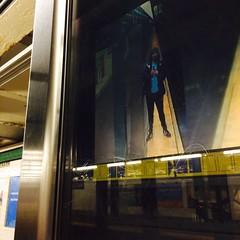 Security camera, subway, New York (Robert A. Coles) Tags: self newyork subway