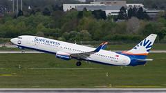 TC-SOD Boeing 737-8HC (Disktoaster) Tags: dus düsseldorf airport flugzeug aircraft palnespotting aviation plane spotting spotter airplane pentaxk1