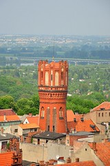 Chełmno water tower (lucivo) Tags: neogothic water tower