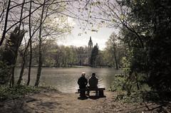 Landkreis Oberhavel - Brandenburg (elisachris) Tags: oberhavel landkreis brandenburg schloss castle romantik romance natur see water lake ruhe silence ricohgr
