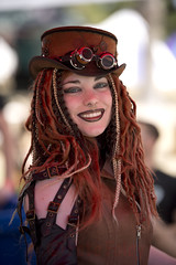 Steam Punk (Pete Foley) Tags: steampunk piratefest lasvegas nevada whyimovedtovegas beauty portrait costume