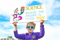 Science Because the Answer is Never Magic (kirstiecat) Tags: sciencebecausetheanswerisnevermagic kid child girl sciencenotsilence thisiswhatdemocracylookslike rally sciencemarch chicago protestor sign epa environmentalprotectionagency resist resistance environment impeachtrump trumpmustgo liberal activist young