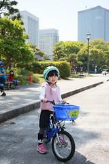 2017-04-30-10h24m00 (LittleBunny Chiu) Tags: 皇居外苑 腳踏車 騎腳踏車 日本 東京 日本旅行 去日本旅行 東京台場 台場 人工沙灘 御台場海濱公園