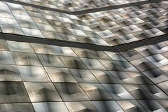 pattern (Karl-Heinz Bitter) Tags: architektur deutschland leipzig architecture germany pattern strukturen höfe am brühl fassade facade metal shadows schatten linien lines karlheinzbitter
