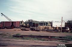 1217  20 May 1980 X1019 Midland Workshops Salvage (RailWA) Tags: railwa philmelling westrail may 1980 x1019 midland workshops salvage