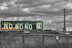 Skye, VIC (phunnyfotos) Tags: phunnyfotos australia victoria vic melbourne skye cranbourne sign subdivision housing estate development progress protest urbangrowth selectivelycoloured nikon 2017 outersoutheast cranbournewest westernporthighway