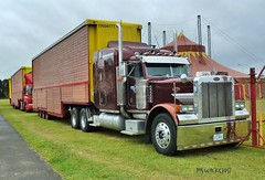 Tennessee Tug. (pyewacket947) Tags: transport peterbilt 379 4e7n88 showland somerset westonsupermare beachroad a370