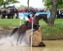 Shane Rose (AUS) (ZoeBee2) Tags: horse rider riding pony gallop water pond event eventing speed challenge compete jumps fence determination power strength grace