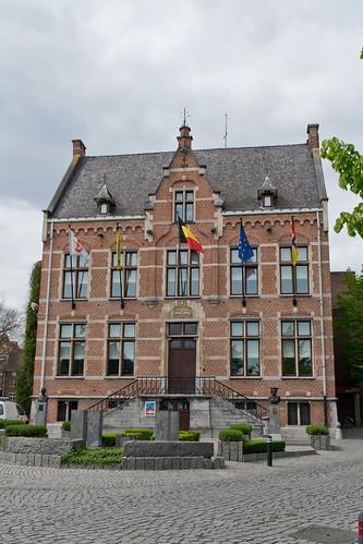 Diepenbeek, Gemeentehuis.