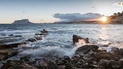_MG_5408 (ISA ORPI) Tags: calacapblanc moraira mar mediterraneo paisaje landscape costa atardecer sunset calpe peñonifach largaexposicion longexposition