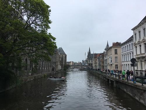 Leie river, Ghent