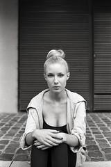 (tmkbnn) Tags: prakticabx20 slr singlelensreflex smallformat 35mm 135 film filmphotography kodak400tx bw blackandwhite cologne woman chignon tomek bwfp