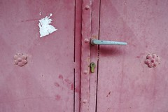 unknown words_ (Melanίa Damianou) Tags: pink white door village greece melpin μελανία καπέσοβο ηπειροσ