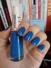 Excelso - Ludurana (Mari Hotz) Tags: esmalte unha ludurana azul