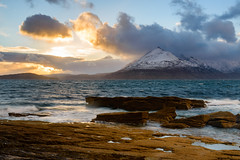Elgol (Joe Hayhurst) Tags: 2017 d610 highlands joehayhurst landscape nikon scotland elgol sunset sea beach cuillins mountain clouds