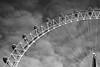 London eye in mono (Yannis Raf) Tags: canon canoneos70d canoneos ef24105mmf4 ef24105mmf4lisusm lond londonlove londoneye landmark england monochrome bw skies