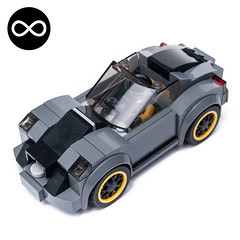 75877 alternate (KEEP_ON_BRICKING) Tags: lego speed champions moc 75877 alternate remix remake car drift rider yellow rims keeponbricking