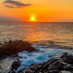 Maui Sunset (thehikingHI) Tags: hawaii maui sunset lanai pacific kapalua coastal ocean island