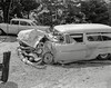 Oakland circa 1958 (Radio Man Mike) Tags: police oakland oaklandpd oaklandpolice opd carcrash collision accident